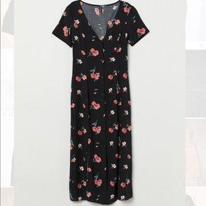 Floral midi dress size XS